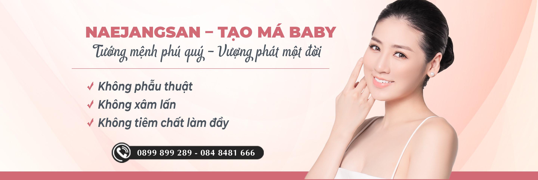 Tạo má baby Naejangsan