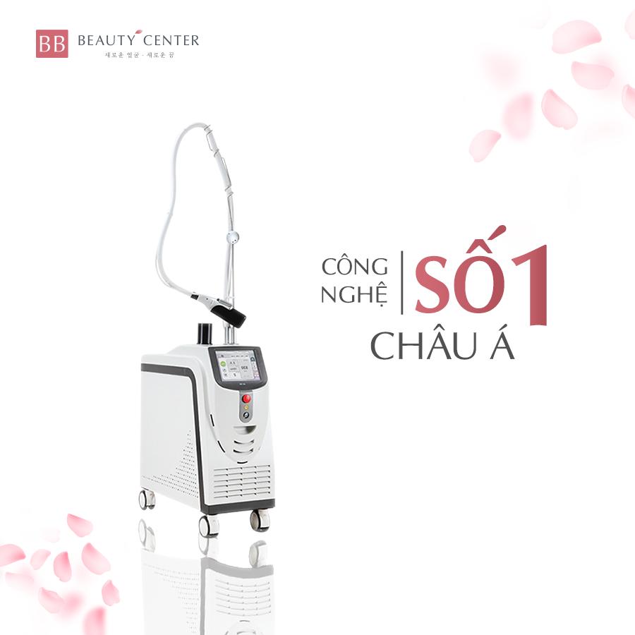 Ứng dụng CN Laser Mercury LX đột phá điều trị giãn mao mạch